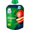 Gerber, 90 g, Fruit puree, Organic apple, From 6 months