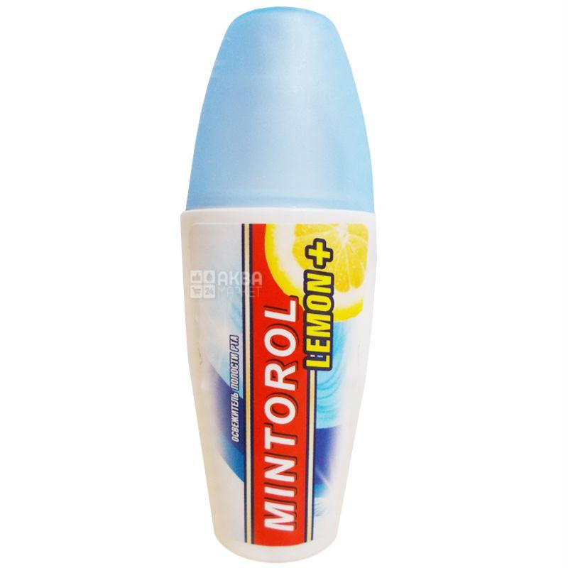 Mintorol, Освежитель дыхания, Fresh Mint, Лимон, Спрей