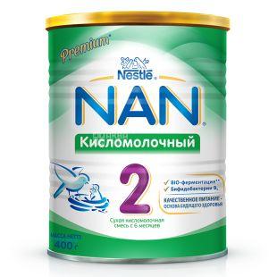 Nestle, 400 г, Кисломолочная смесь, Nan