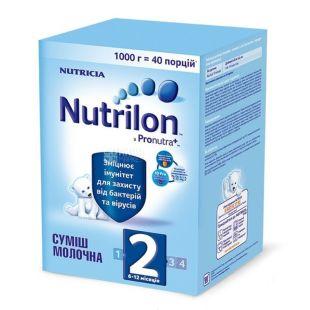 Nutrilon, 1000 г, Молочная смесь, 2