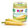 Hipp, 125 г, Овощное пюре, Первая детская белая морковь