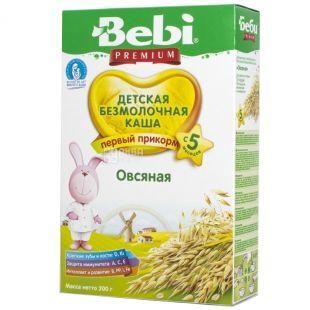 Bebi Premium, 200 г, Каша безмолочна, Вівсяна, З 5-ти місяців