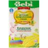 Bebi Premium, 200 г, Каша безмолочная, Кукурузная, Низкоаллергенная, С 5-ти месяцев