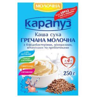 Карапуз, 250 г , Молочная каша, Гречневая
