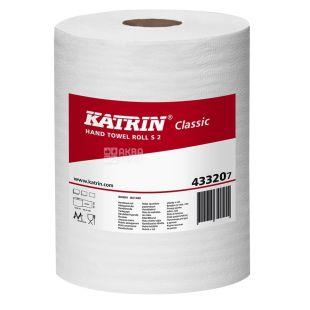 Katrin, 1 рулон, Рушники паперові, Classiс, Двошарові, Із центральним витягуванням