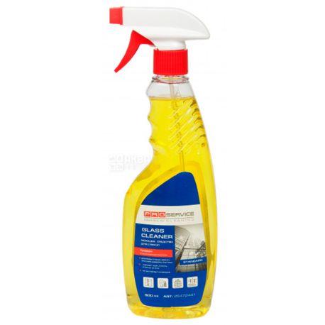 PRO service, 500 мл, Засіб для миття скла та дзеркал, Лимон, Спрей