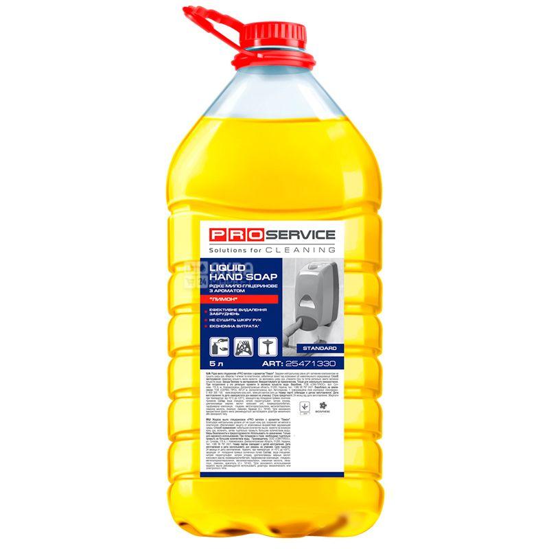 PROservice, 5 л, Рідке мило, Лимон, Гліцеринове