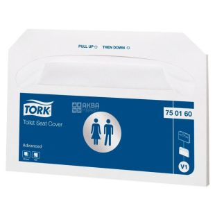 Tork, 250 шт., Накладки для унитаза Торк, гигиенические