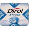 Dirol X-Fresh, Упаковка 16 шт. по 18 г, Жевательная резинка, Ледяная мята