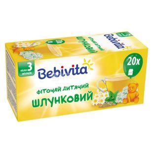 Bebivita, Желудочный, 20 пак., Чай Бебивита, детский с травами