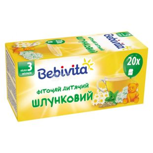 Bebivita, 30 г, Чай, Дитячий, Шлунковий