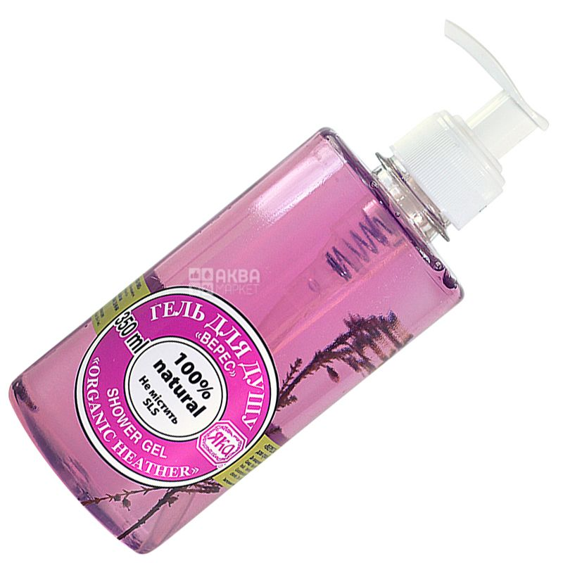 Yaka, 350 ml, Shower Gel, Heather