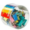 AIHAO, 30 шт., 10 мм, Набор биндеров-зажимов, Разноцветные