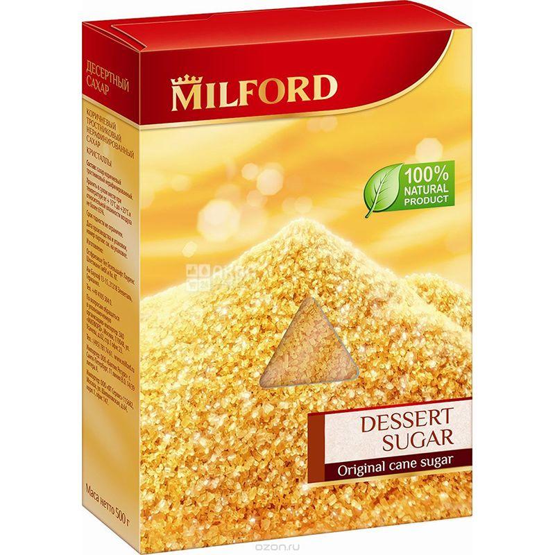 Milford, 500 г, Сахар-песок тростниковый, коричневый