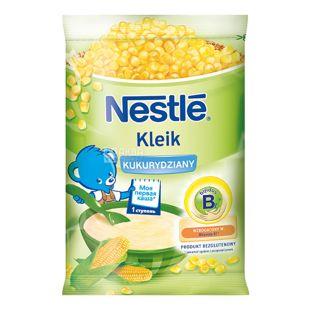 Nestle, 160 г, Безмолочная каша, Кукурузная, м/у