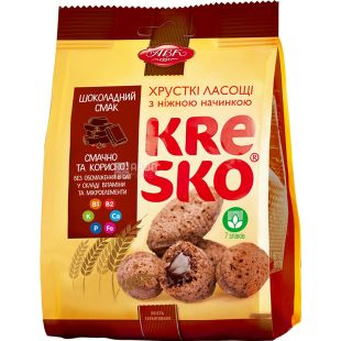 AVK, 74 g, Crispy figures, Kresco, Chocolate flavor, m / s