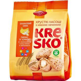 AVK, 74 g, Crispy figures, Kresco, Banana flavor, m / s