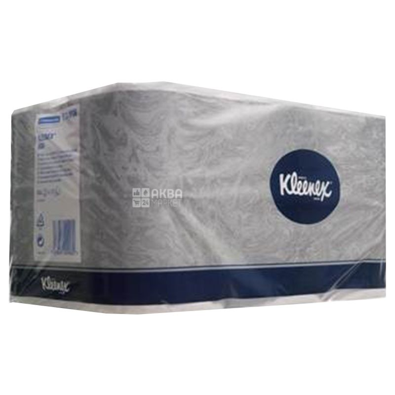 Kleenex, 6 рул., Туалетная бумага Клинекс, 2-х слойная