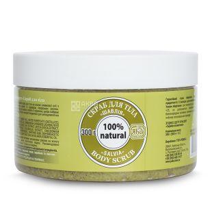 YAKA, 300 ml, Body Scrub, Sage