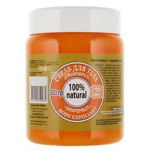 YAKa, 300 ml, Body Scrub, Grapefruit