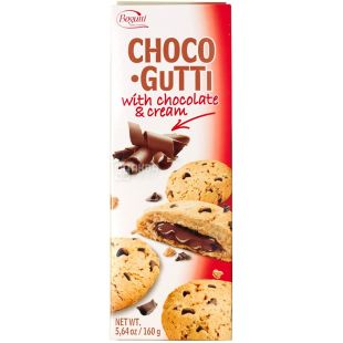 Bogutti, 160 g, Biscuits, Choco Gutti, With Chocolate Crumbs and Filling