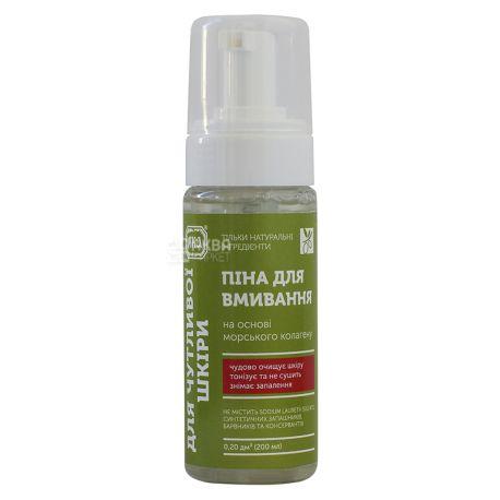 YAKA, 150 ml, Foam for washing, For sensitive skin