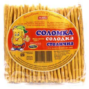 Соломка Столичная, Сладкая 250 г, м/у