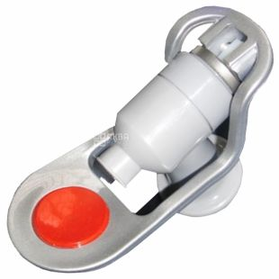 Кран, Горячей воды, V208 (QDF-7), Серый