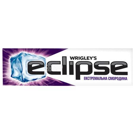 Eclipse, 14 г, Жувальна гумка, Екстремальна смородина
