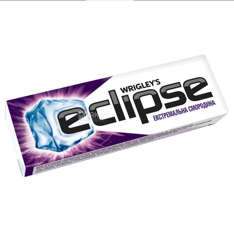 Eclipse, 14 г, Жевательная резинка, Экстремальная смородина
