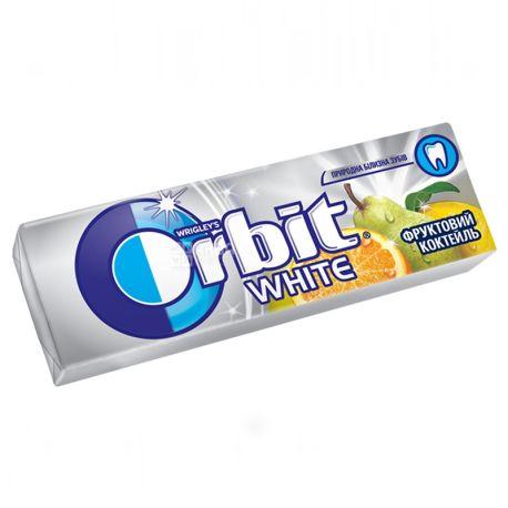 Orbit Фруктовий коктейль, 14 г, Жувальна гумка, Орбіт