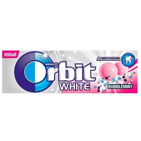 Orbit, 14 г, Жувальна гумка, Bubblemint