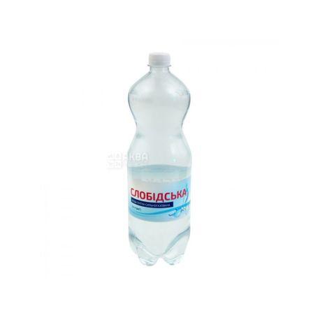 Слобідська, Вода сильногазована 2 л, ПЕТ