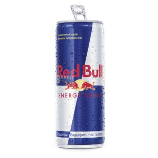 Red Bull, Pack of 24 pcs. on 0.25 l, Energy drink, can