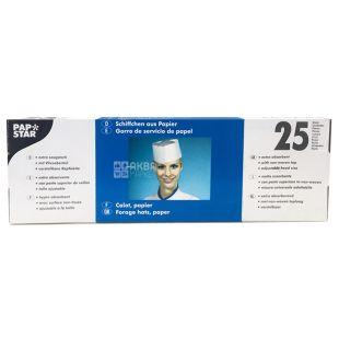 Pap Star, 25 шт., 9 см, Ковпак, Одноразовий