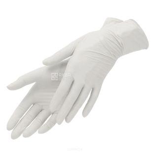 Мелочи Жизни, 10 шт., Вінілові рукавички, Для м'яса і риби