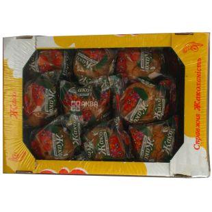 Jaco, 1 kg, Cupcake, Cherry Filling, Cardboard Box