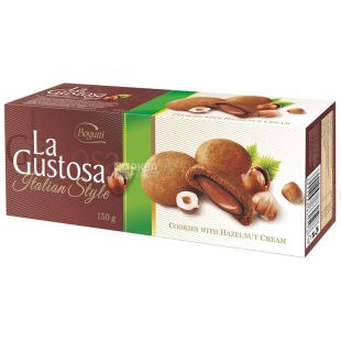 Bogutti, 150 г, Печенье, La Gustosa, Картонная коробка