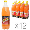 Schweppes, Pink Grapefruit, Упаковка 12 шт. по 1 л, Швепс, Розовый Грейпфрут, Вода сладкая, ПЭТ