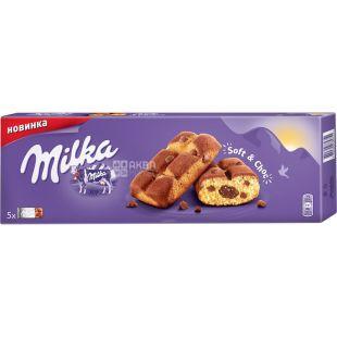 Milka, 175 г, Печенье, Бисквит с шоколадом