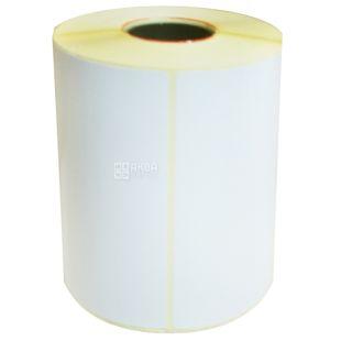 Self-adhesive label, 500 pcs., 102x73 mm, n / g
