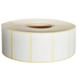 The label is self-adhesive, 2000pcs., 30x20 mm, n / g