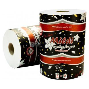 Mildi Premium, 1 рул., Рушники паперові Міді, 2-шарові, 330 відривів, 90 м