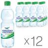 Карпатська Джерельна, Упаковка 12 шт. по 0,5 л, Вода мінеральна, Слабогазована, ПЕТ