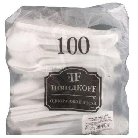 Bittner, Ложка столовая прочная, белая, 100 шт.