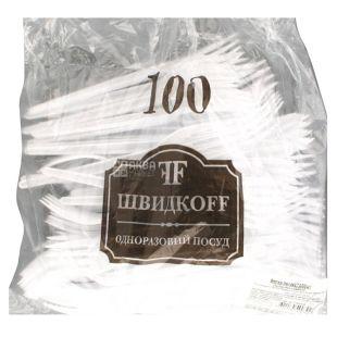 Bittner, 100 шт., Вилка, Одноразовая
