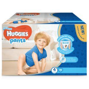 Huggies Pants Boy 4, 72 шт., 9-14 кг, Подгузники, Для мальчиков, м/у