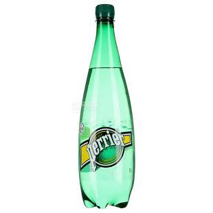 Perrier, 1 л, Пер'є, Вода мінеральна газована, ПЕТ