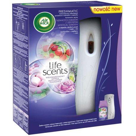 Air Wick, 250 мл, Автоматичний освіжувач повітря, Казковий сад, Freshmatic Life Scents