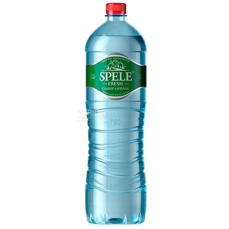 Spele Fresh, Вода слабогазована, 1,5 л, ПЕТ